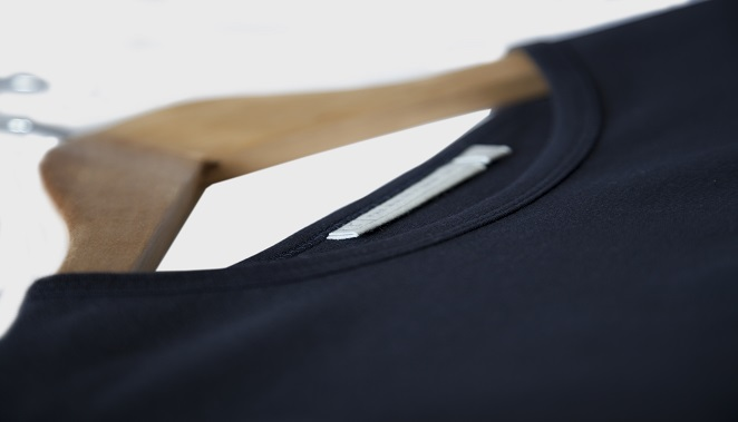 mens navy pure cotton t-shirt