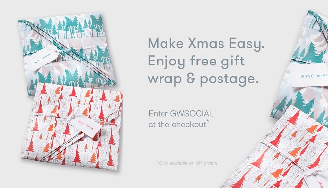 Complimentary Gift Wrap & Postage!
