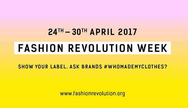 It's Fashion Revolution Week!
