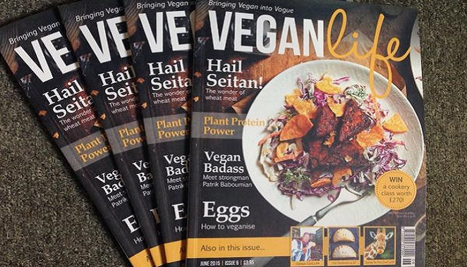 Win an organic t-shirt with Vegan Life Magazine