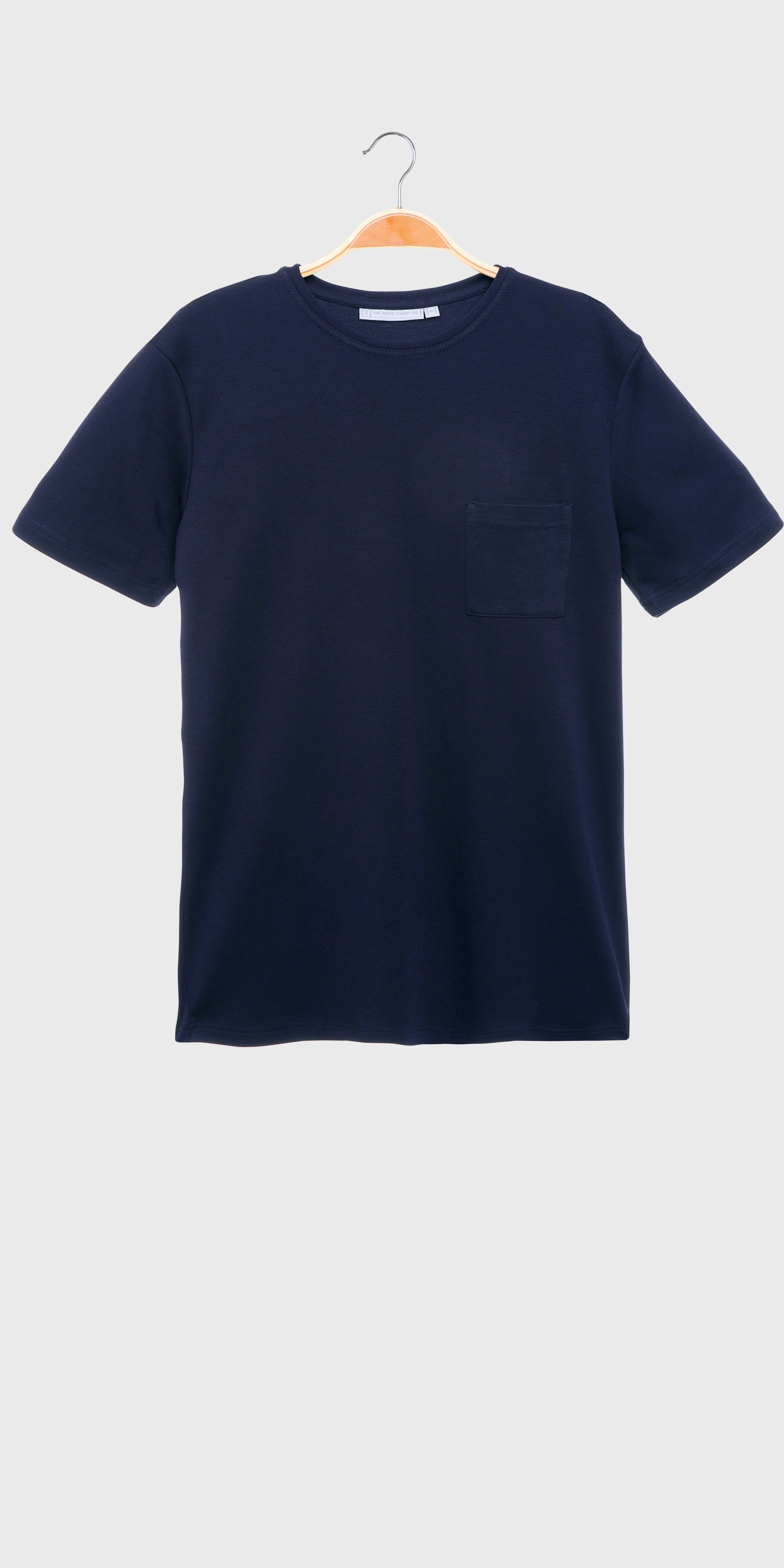 men's navy t-shirt with pocket