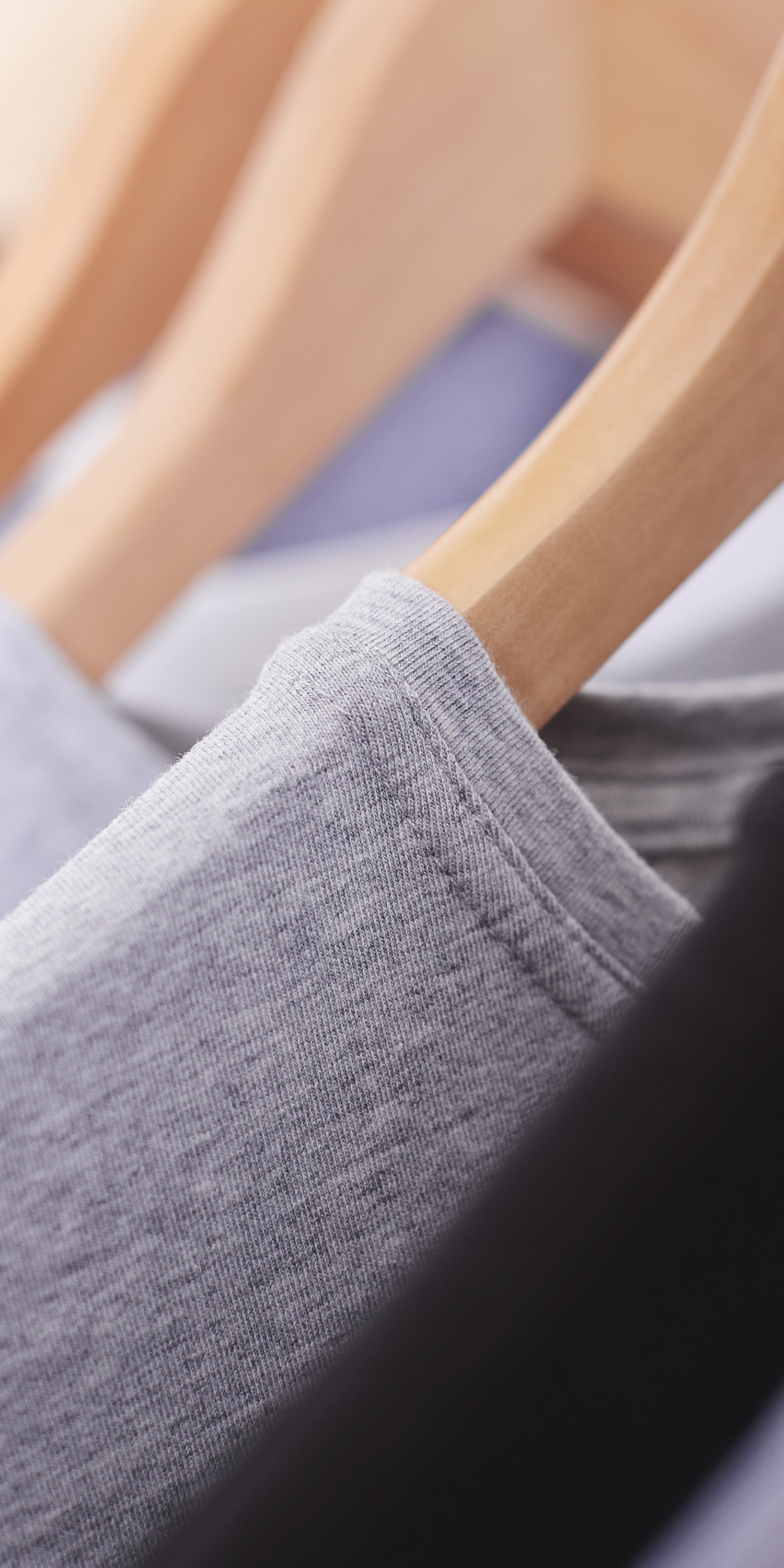 Organic cotton grey marl t-shirt