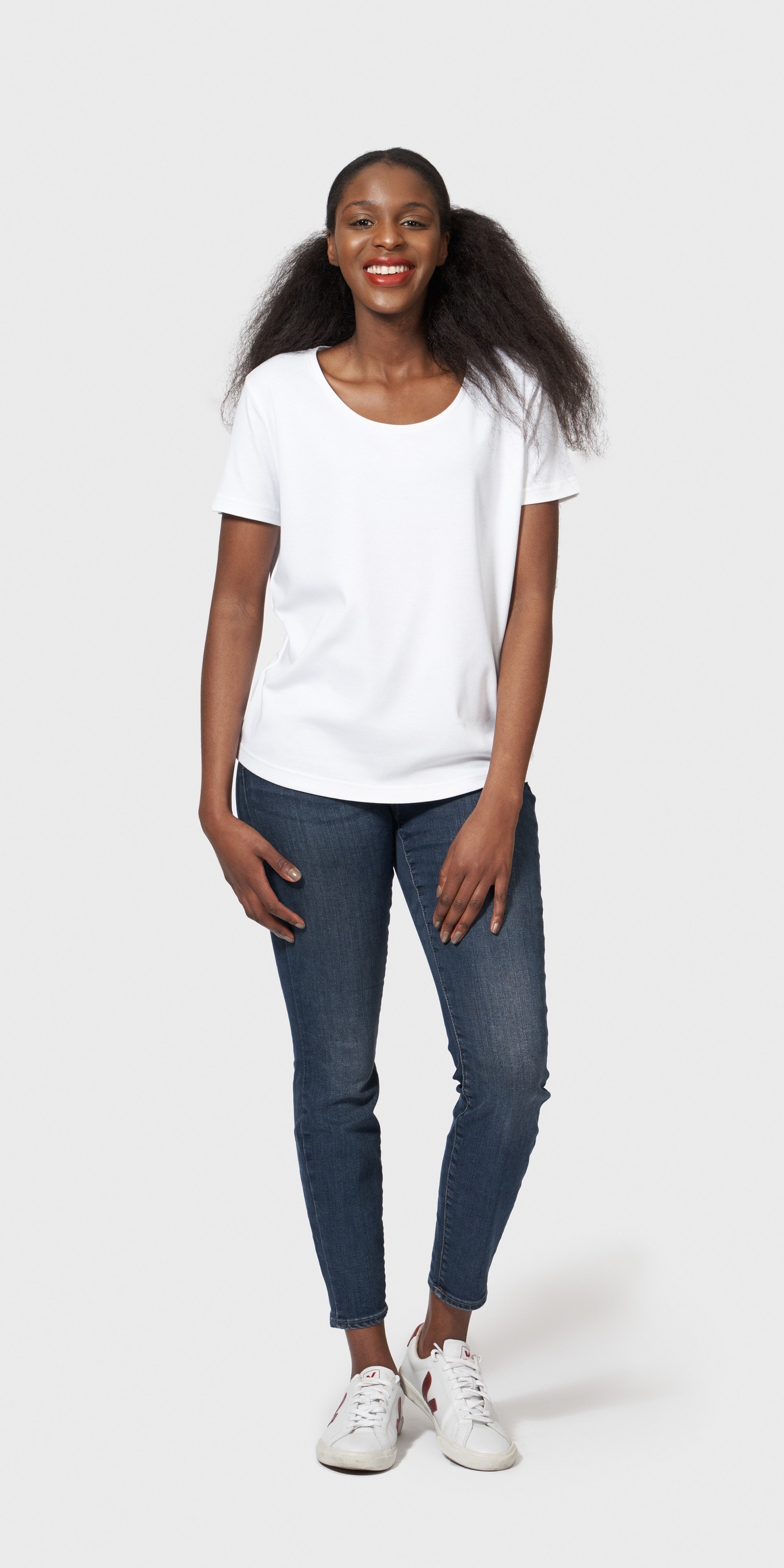 womens organic cotton loose fit t-shirt