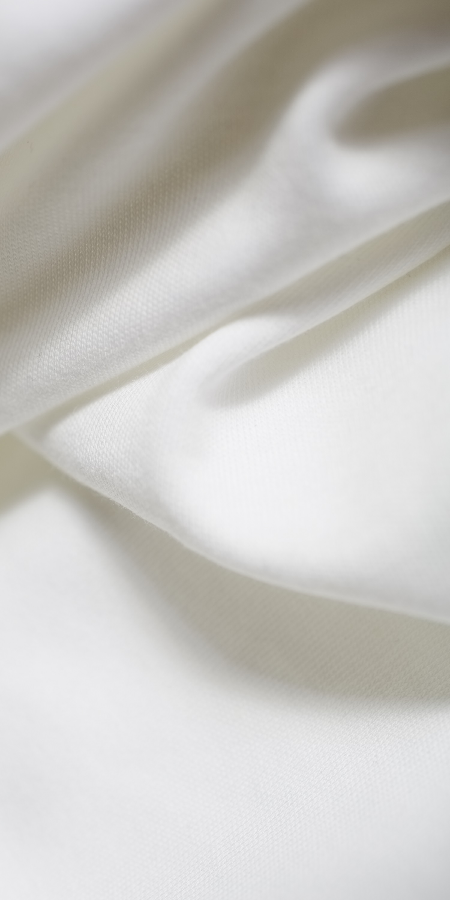 heavy weight organic cotton in white